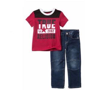 TRUE RELIGION Rockstar Jean Set Size 2T NWT